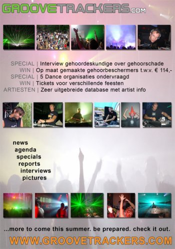 Groovetrackers advertentie