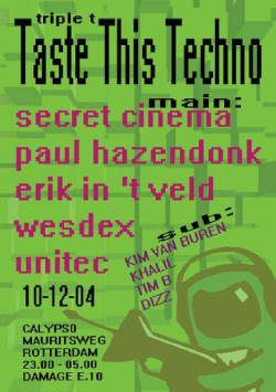 taste this techno deel5 10-12-2004