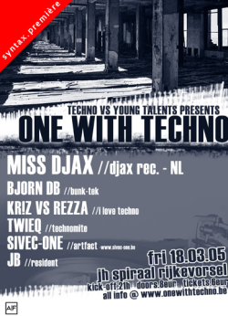 one with techno 18-03-2005