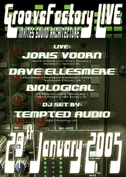 groovefactory live 29-01-2005