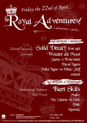 Royal Adventures flyer