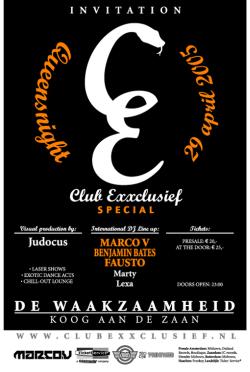 club exxclusief 29-04-2005