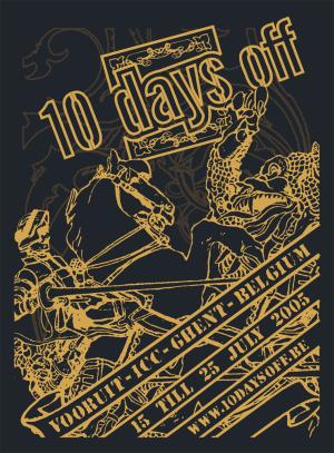 10 days off 2005