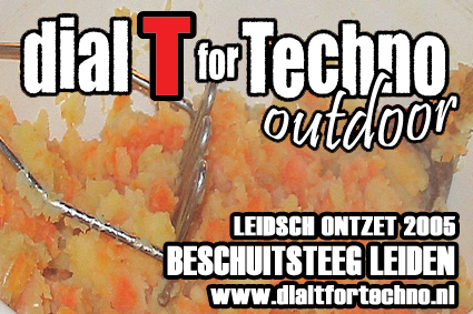 Dial T For Techno outdoor 2005 voorkant