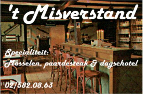 misverstand menu
