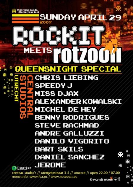 rockit meets rotzooii 29-04-2007