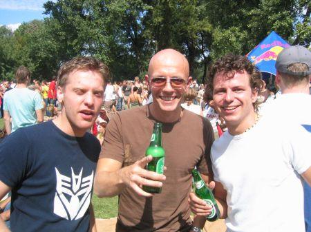Nicky, Kale, Chris