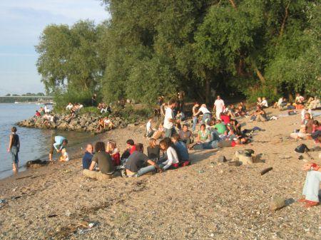 Chillen aan de Rijn