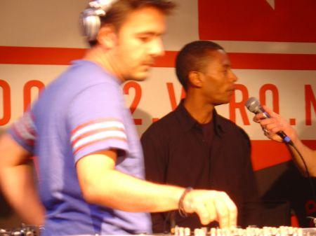 Laurent Garnier en Jeff Mills