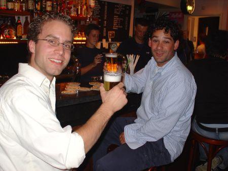 Nicolaas en Jeroen