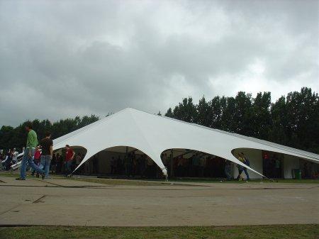 De minimal tent