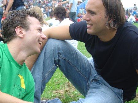 Chris en Geert