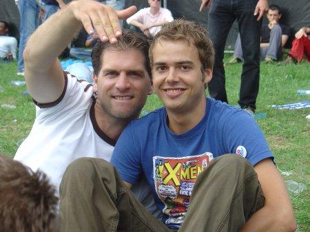 Mark en Michael