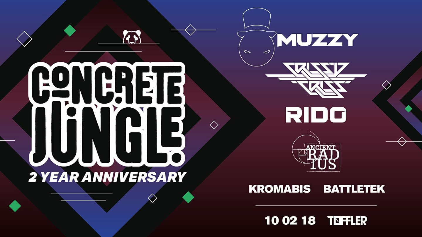 Concrete Jungle 2 Year Anniversary