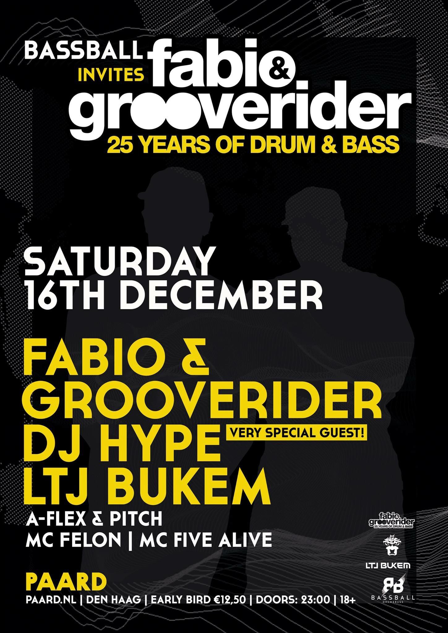 Bassball invites Fabio & Grooverider