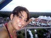 Nicole in het reuzenrad
