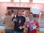 Pizza, bier en Döner eet smakelijk!