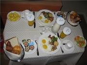 Roomservice in 5 sterren Hotel Westin ;-)