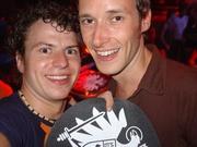 Ik, m'n nieuwe slipmat en Michael Mayer! :D