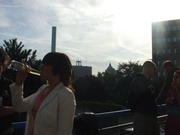 Chillen op het balkon