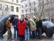 Toeristische groepsfoto!