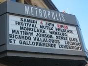 Metropolis Line-up