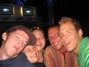 Tobi, Anja, Svenja, Jan en Gijs