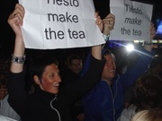 Tiesto make the tea...