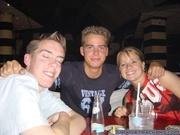 Gijs, Mike en Rinske