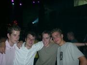 Bauke, Chris, Gijs en Michael