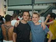 Lucas en Dirk