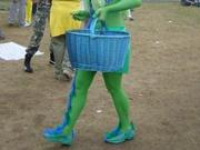 Green & Blue Candy girl