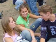 Caroline, Maren en Mike