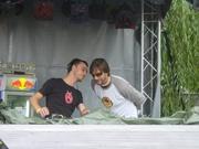 Steve Bug en Ricardo Villalobos