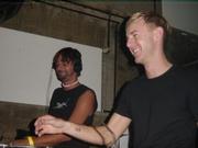 Ricardo en Richie havin' fun!