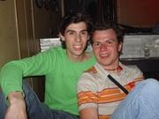 Roderik en Chris