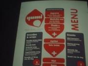 Het menu :-)