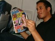 Benny Rodriques met lectuur