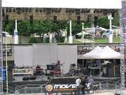 Movement Stage 1e dag, soundcheck M Fiddler