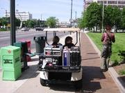 Apparatuur van Duplex per golfcar