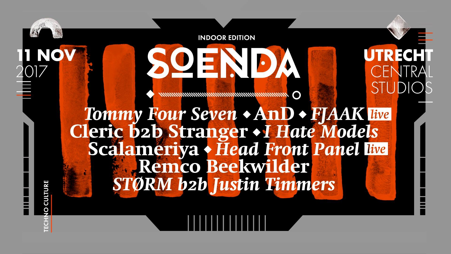 Soenda Indoor - Techno edition