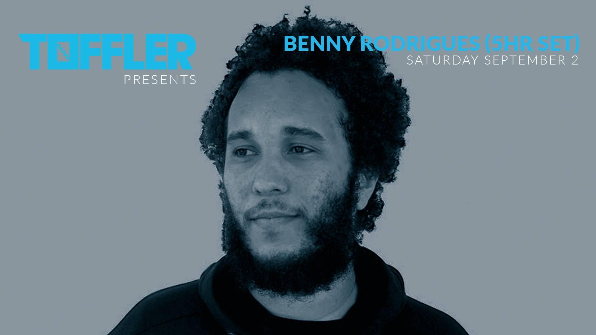 Toffler presents Benny Rodrigues