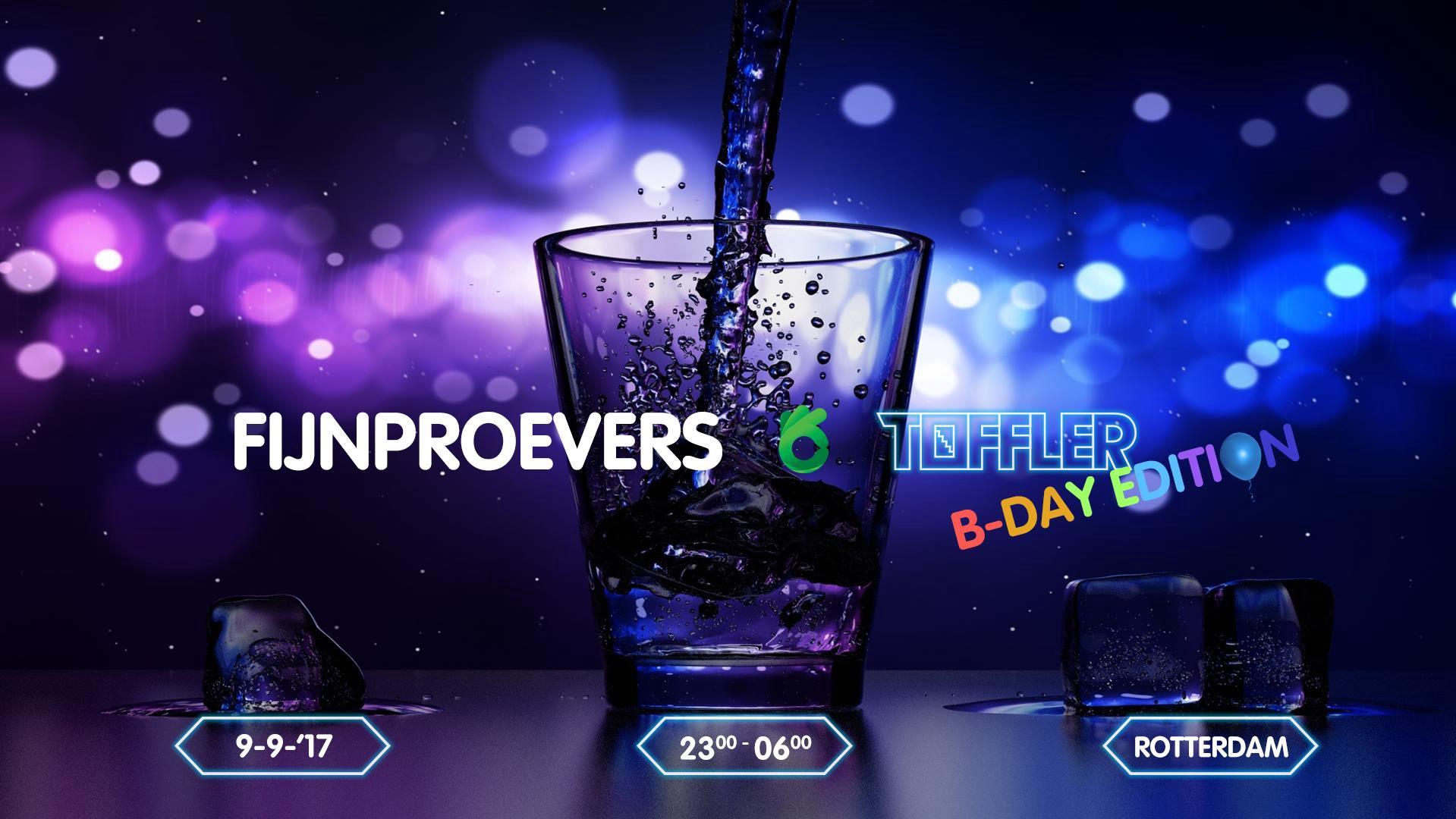 FijnProevers X Toffler Birthday Edition