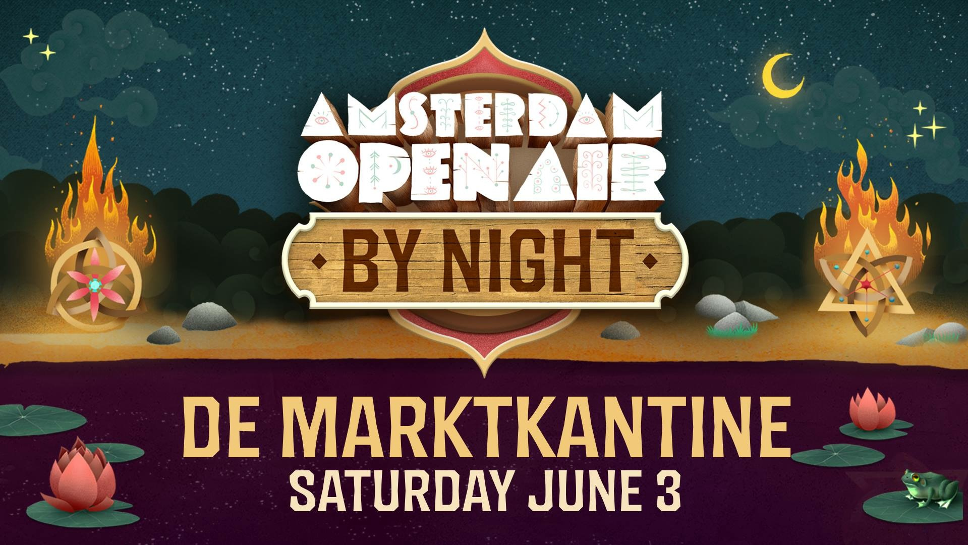 Amsterdam Open Air By Night