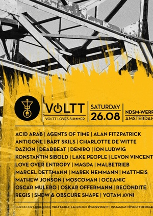 VOLTT Loves Summer Festival 2017