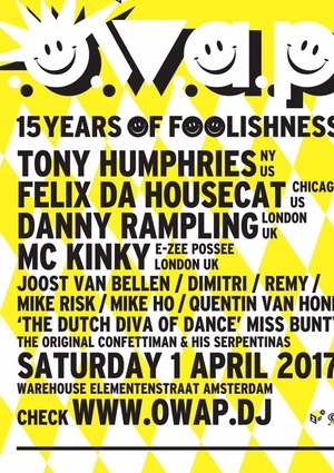O.W.A.P. 15 years of foolishness