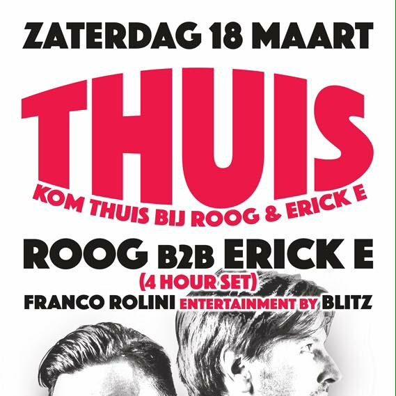 Thuis Kom thuis bij Roog & Erick E