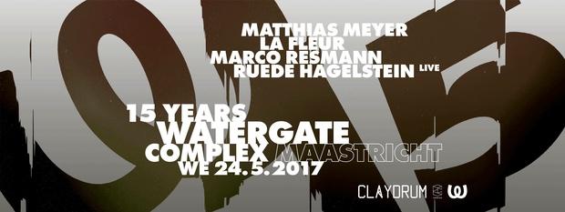 15 Years Watergate Berlin
