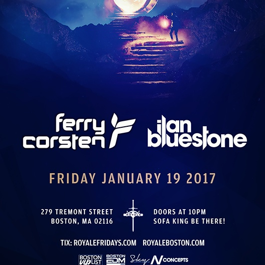Sofa King Fridays with Fery Corsten & Ilan Bluestone