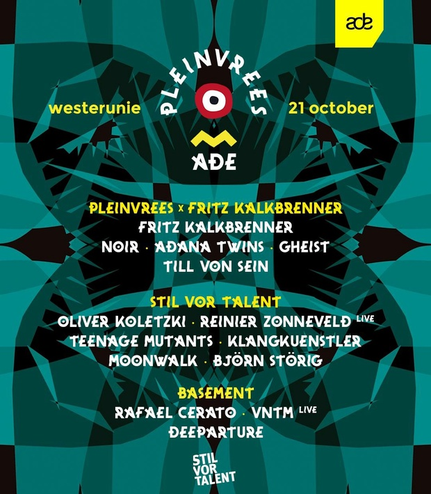 Pleinvrees ADE x Fritz Kalkbrenner & Stil vor Talent